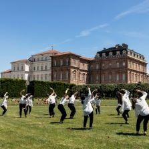 Le Sacre du Printemps. Prove nei Giardini della Reggia - Foto di Micol Sacchi