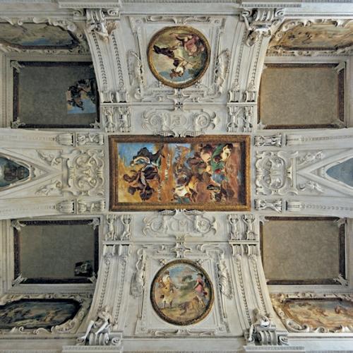 Sala di Diana - Volta di Bernardino Quadri