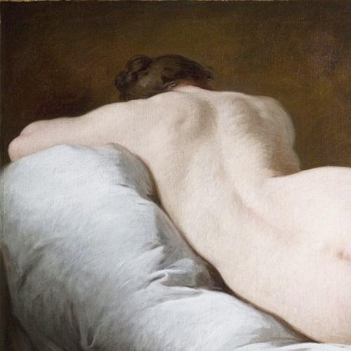 Pierre Subleyras, Nudo femminile di schiena, olio su tela, 1735 ca, Roma, Gallerie Nazionali d'Arte Antica, Palazzo Barberini