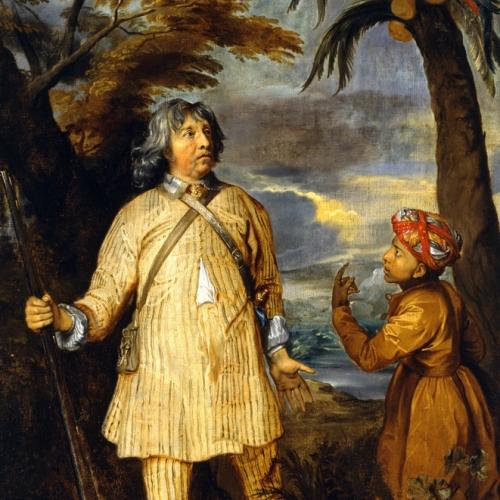 Pittore inglese degli inizi del XVIII secolo [?], Ritratto di William Feilding primo conte di Denbigh, copia da Anton van Dyck, 1700-1725 circa, olio su tela, 108x82 cm.