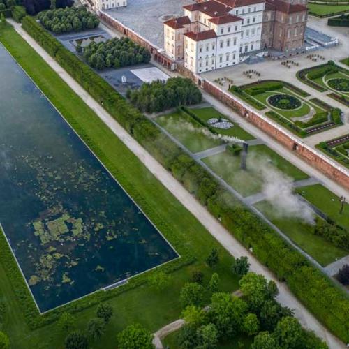 Parco Basso - Peschiera, veduta aerea. Foto di Dario Fusaro