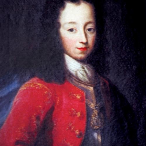 Il giovane principe Vittorio Amedeo Filippo di Savoia