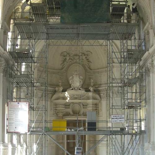 Il restauro della Galleria Grande