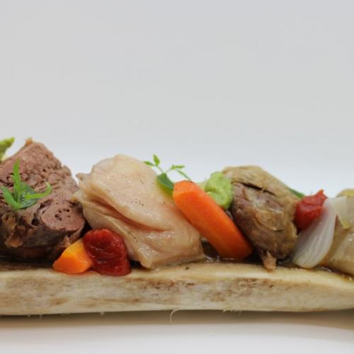 Un piatto del Ristorante Dolce Stil Novo