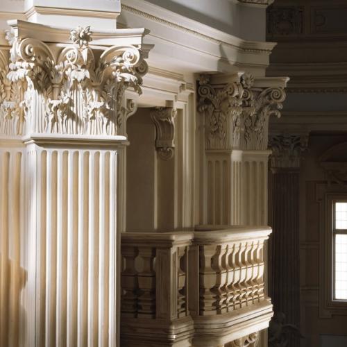 Cappella di Sant'Uberto. Part.