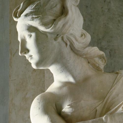 Statue delle Quattro Stagioni di Simone Martinez nel Rondò alfieriano